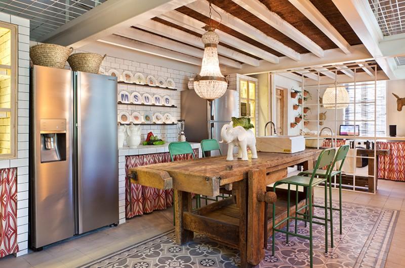 Wabi Samsung kitchen en Casa Decor 2016